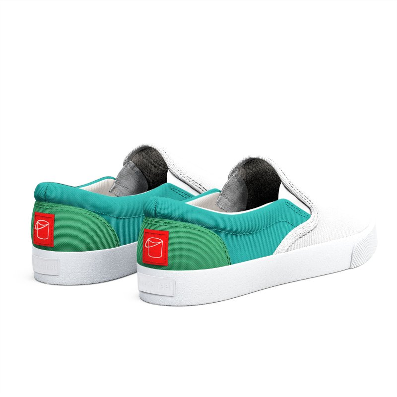 White Green Men's Shoes by HANGERMAN NYC