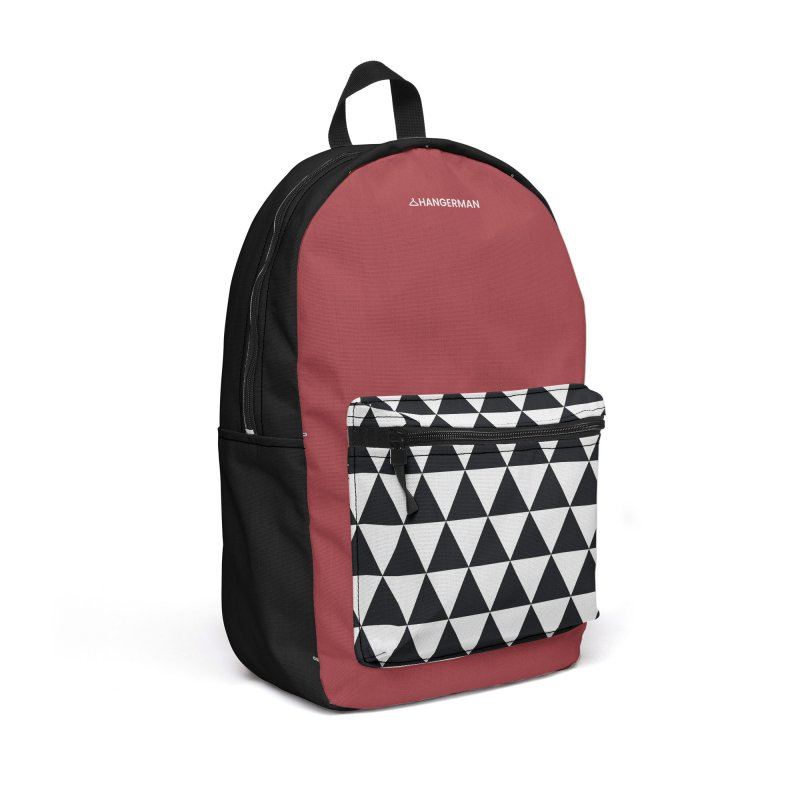 Bk Triangles Accessories Backpack Bag by HANGERMAN NYC