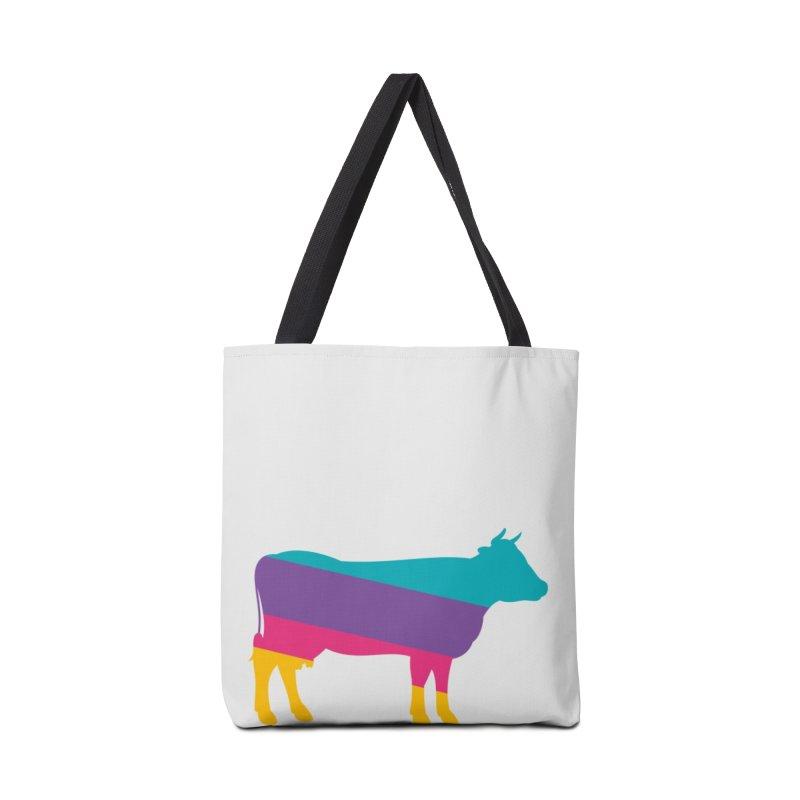 Cow Accessories Tote Bag Bag by HANGERMAN NYC