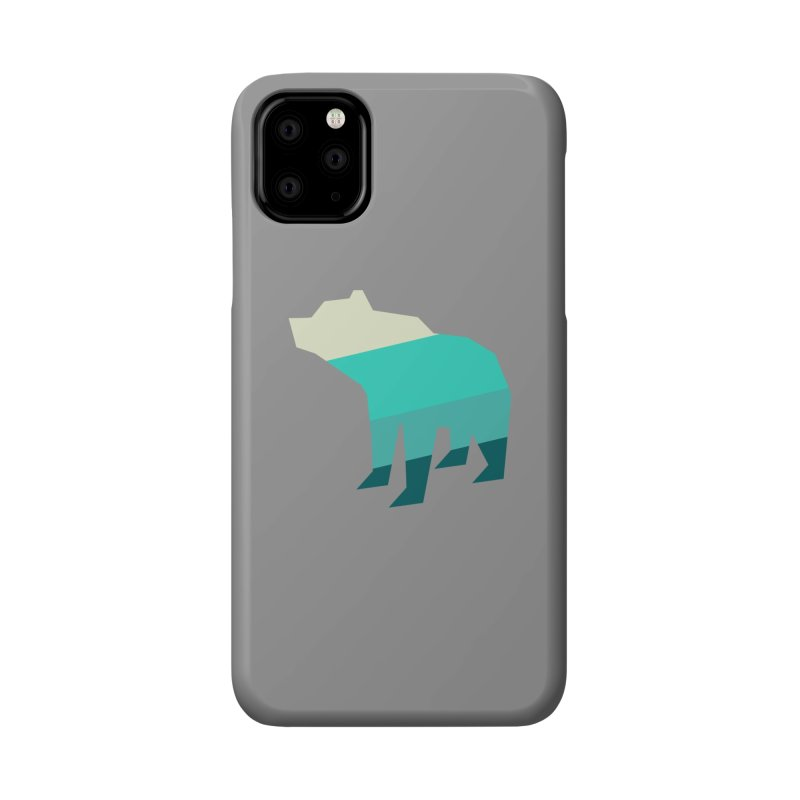 Bear Accessories Phone Case by HANGERMAN NYC