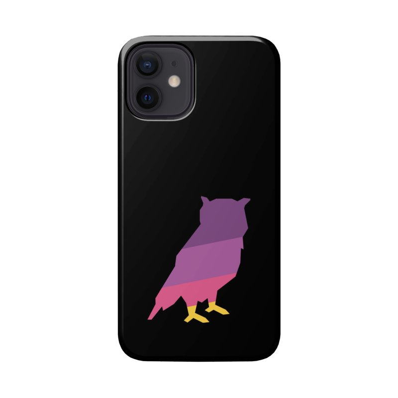 Owl Accessories Phone Case by HANGERMAN NYC