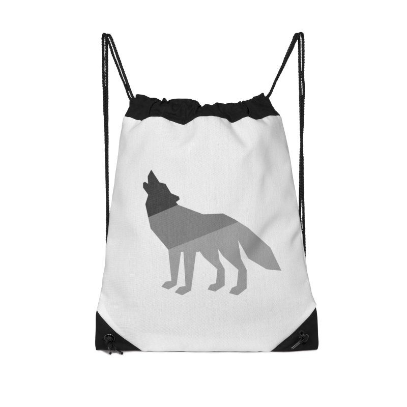 Wolfman Accessories Drawstring Bag Bag by HANGERMAN NYC