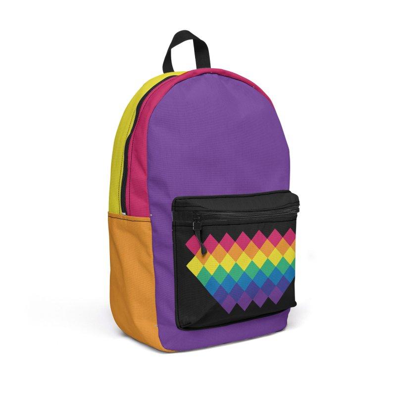 PRIDE 2019 Accessories Backpack Bag by HANGERMAN NYC