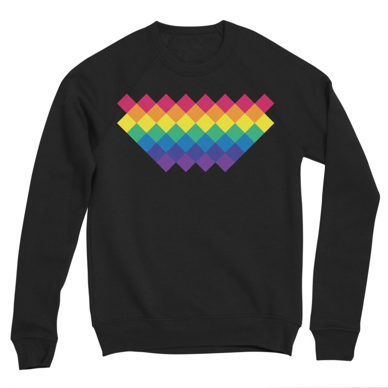 PRIDE 2019 Men's Sponge Fleece Sweatshirt by HANGERMAN NYC