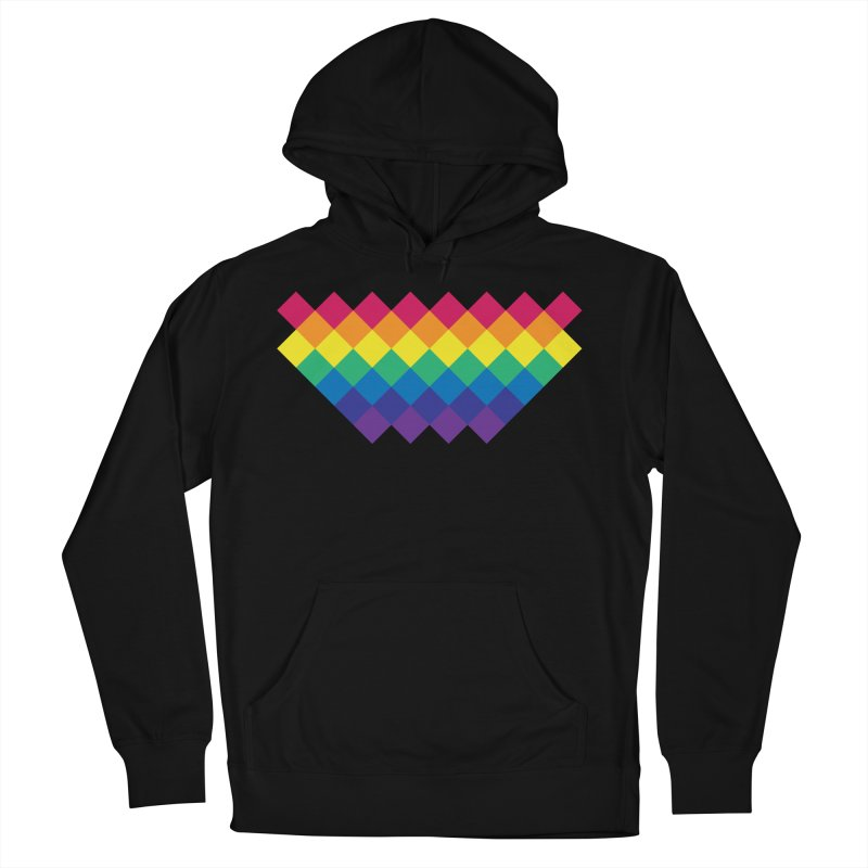PRIDE 2019 Men's French Terry Pullover Hoody by HANGERMAN NYC