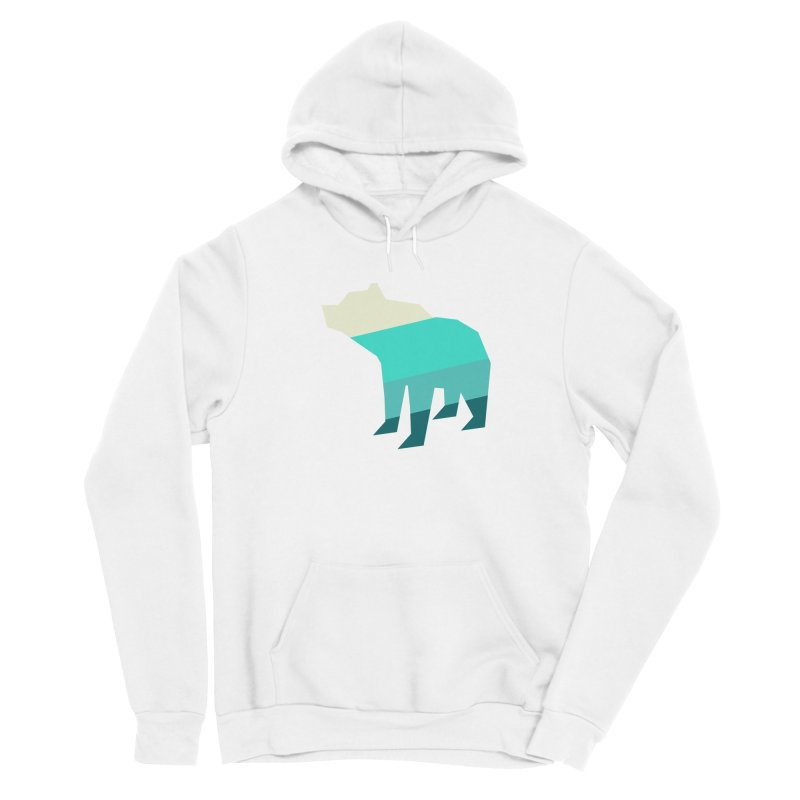 Bear Men's Pullover Hoody by HANGERMAN NYC