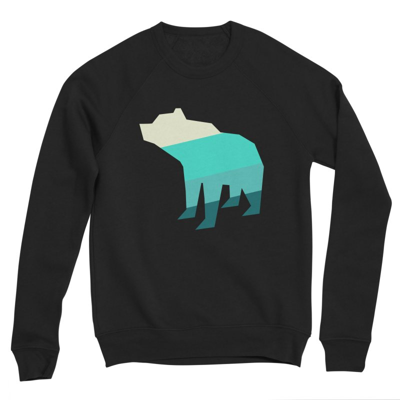 Bear Men's Sponge Fleece Sweatshirt by HANGERMAN NYC