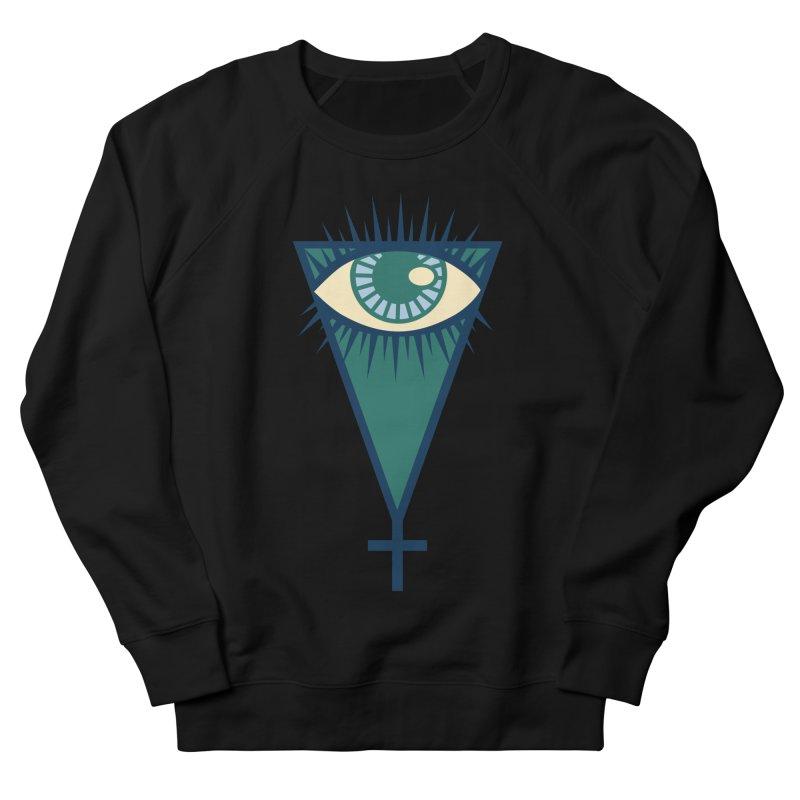 EyeSpike Women's French Terry Sweatshirt by HANGERMAN NYC