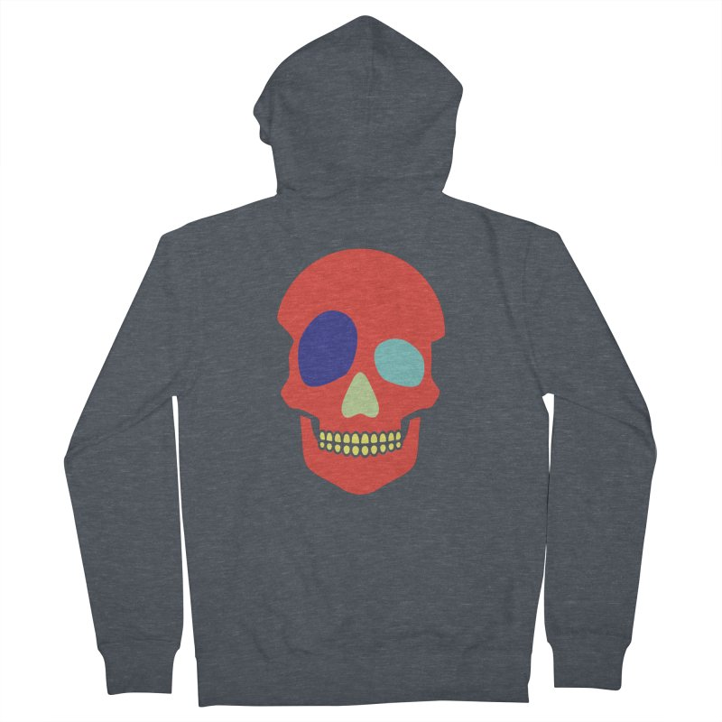 DeadWheel Men's French Terry Zip-Up Hoody by HANGERMAN NYC