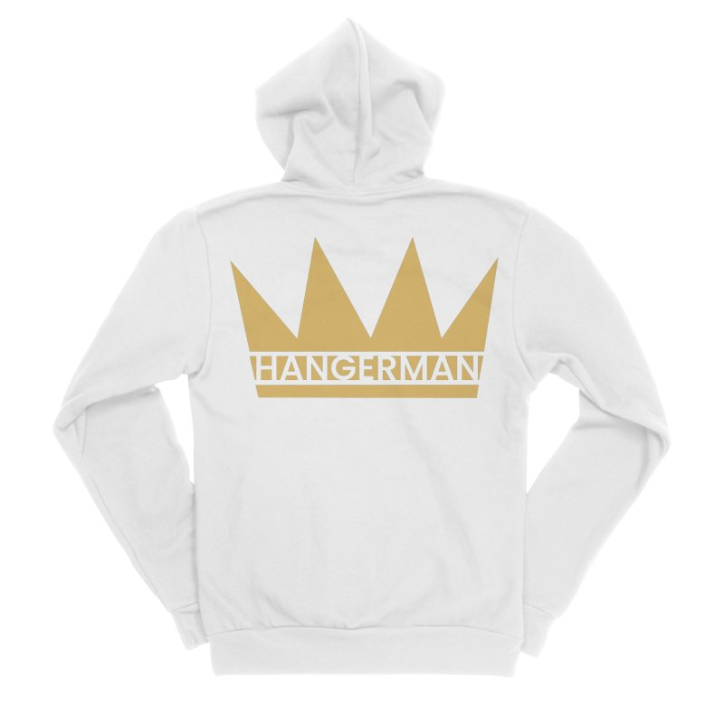 HangerCrown Women's Zip-Up Hoody by HANGERMAN NYC