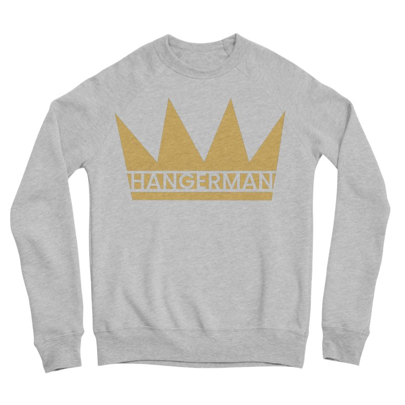 HangerCrown Men's Sponge Fleece Sweatshirt by HANGERMAN NYC