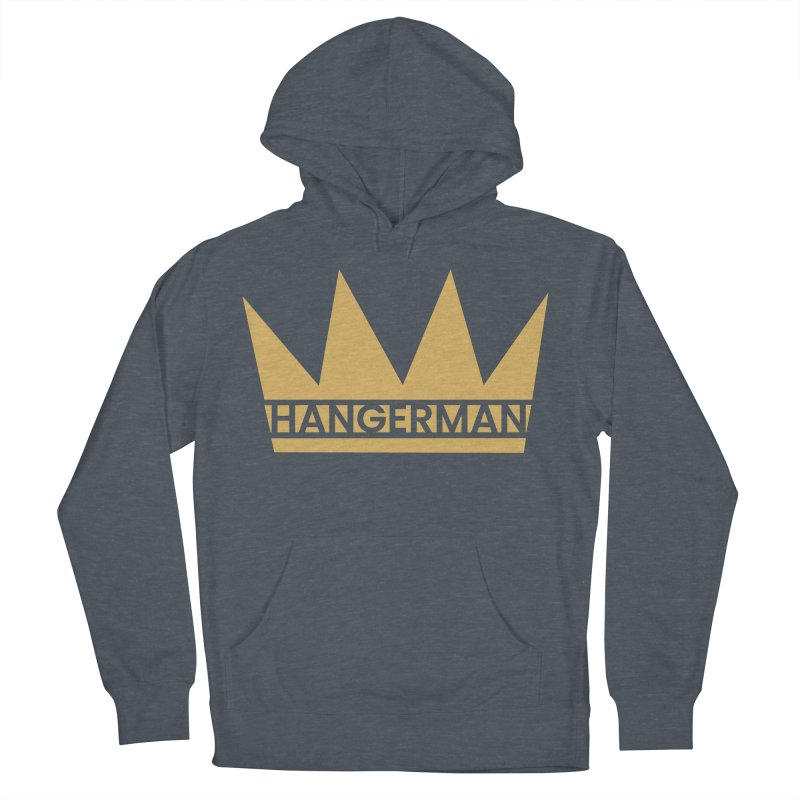 HangerCrown Men's French Terry Pullover Hoody by HANGERMAN NYC