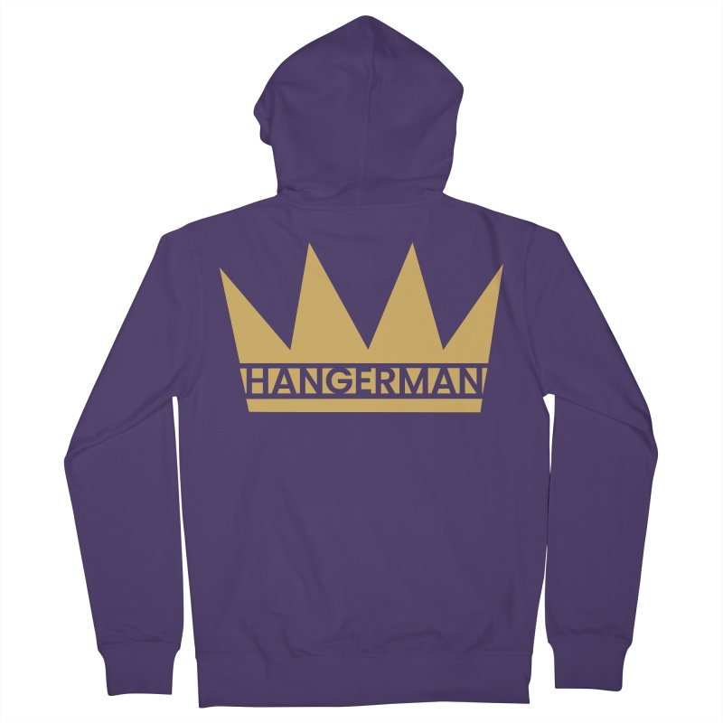 HangerCrown Women's Zip-Up Hoody by HANGERMAN NYC