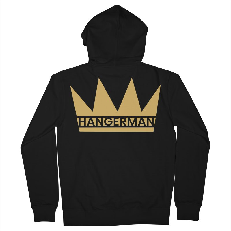 HangerCrown Men's French Terry Zip-Up Hoody by HANGERMAN NYC
