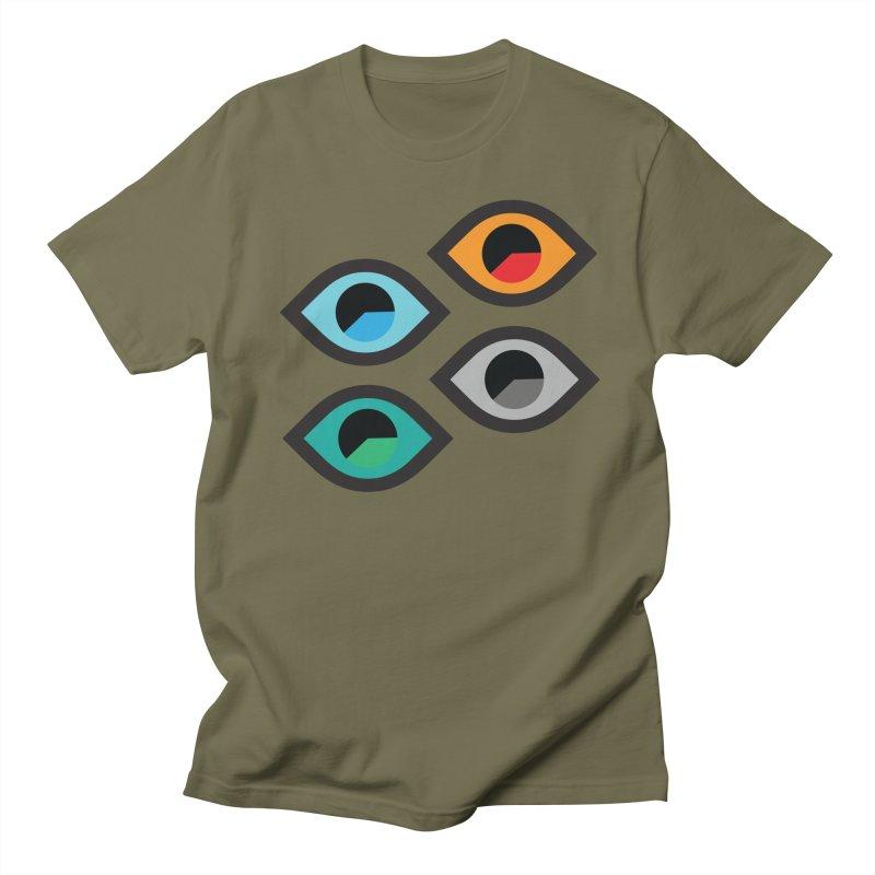 EyeTimer Men's T-Shirt by HANGERMAN NYC