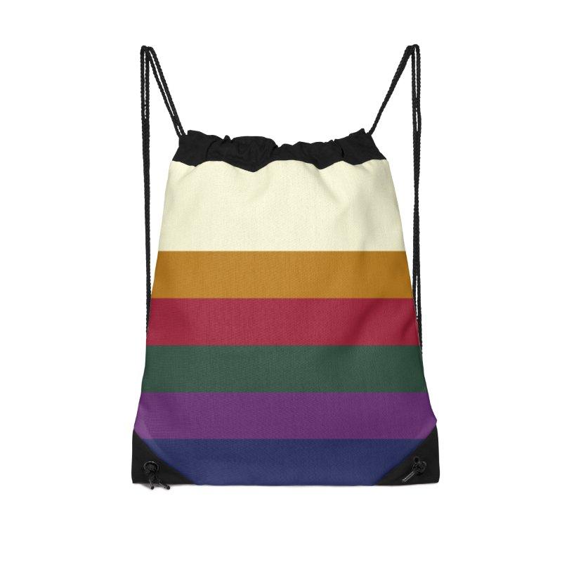 Pallete I Accessories Drawstring Bag Bag by HANGERMAN NYC