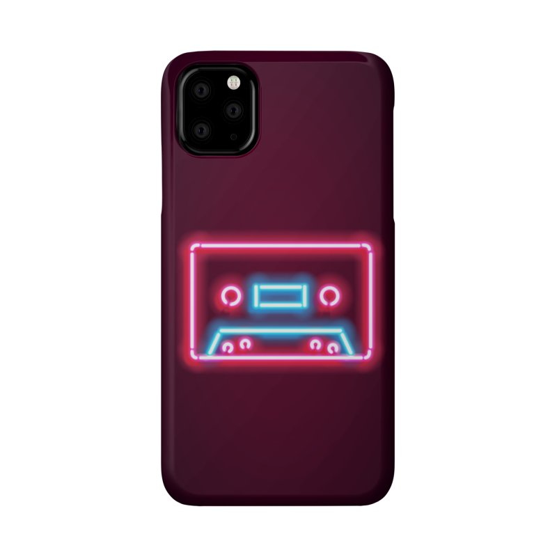 Tape Neon Accessories Phone Case by HANGERMAN NYC