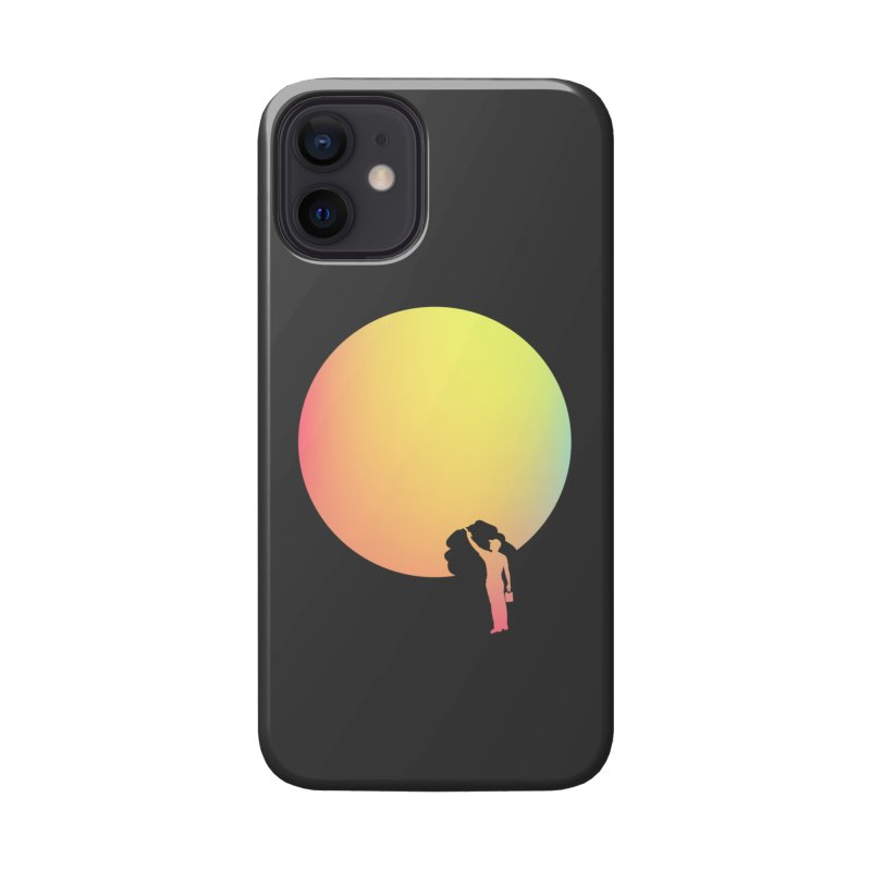 Moon Painter Accessories Phone Case by HANGERMAN NYC