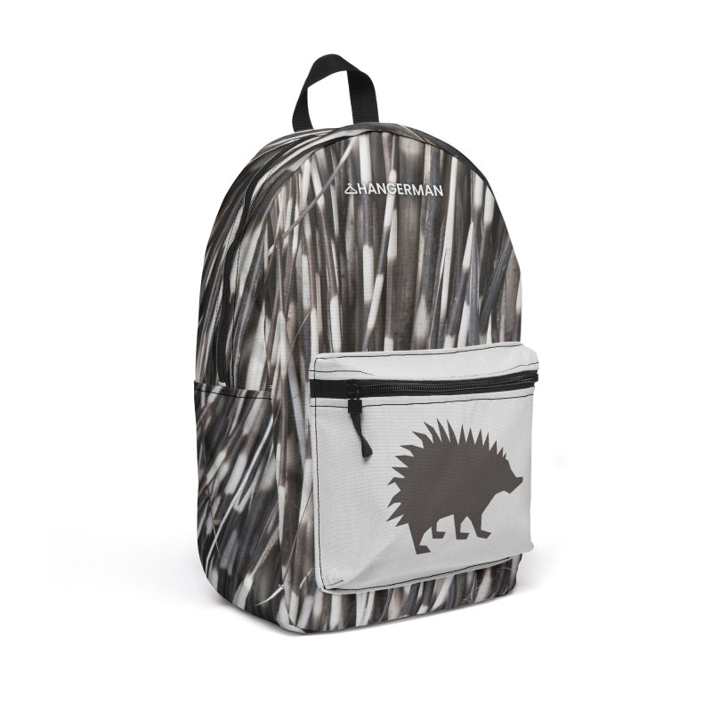 Porcupine Accessories Bag by HANGERMAN NYC