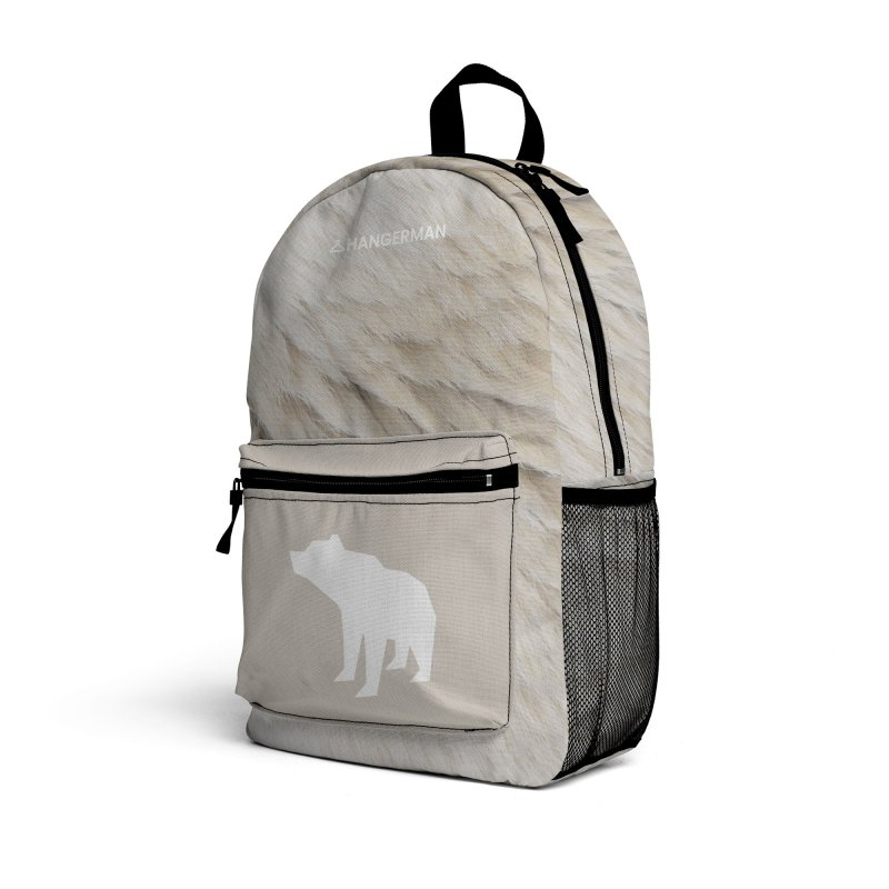 Polar Bear Accessories Bag by HANGERMAN NYC