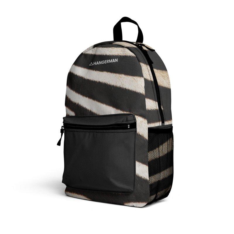 Zebra Accessories Bag by HANGERMAN NYC