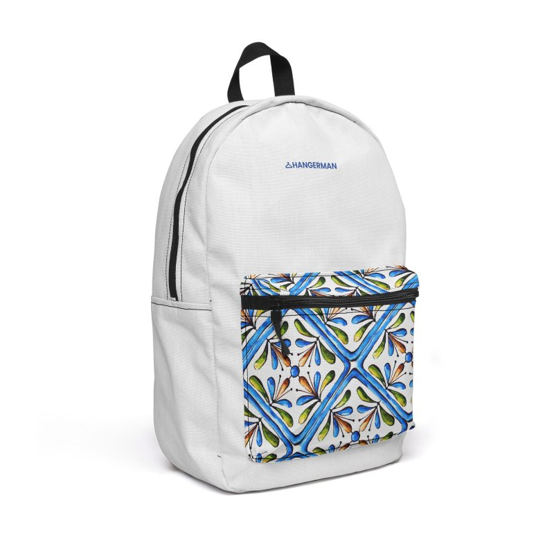 Tiles Accessories Backpack Bag by HANGERMAN NYC