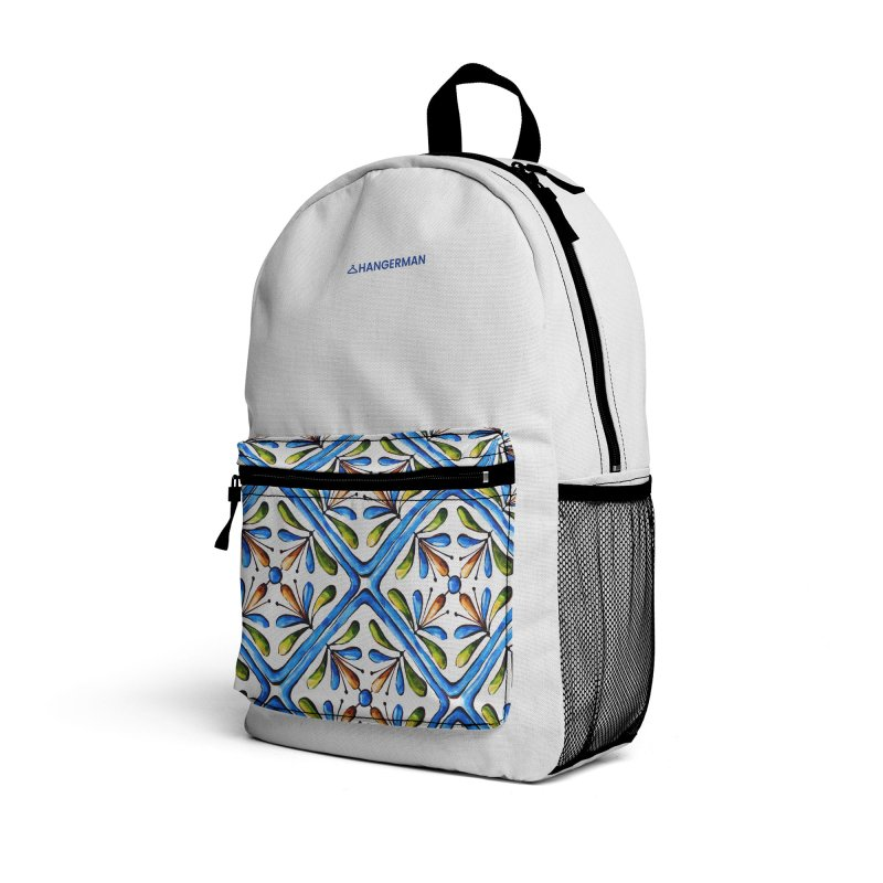 Tiles Accessories Bag by HANGERMAN NYC