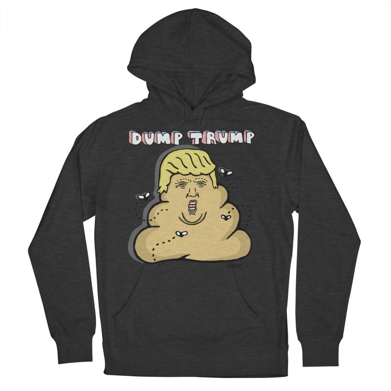 Dump Trump #2 Men's French Terry Pullover Hoody by hanksy