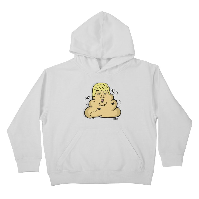 Dump Trump #1 Kids Pullover Hoody by hanksy