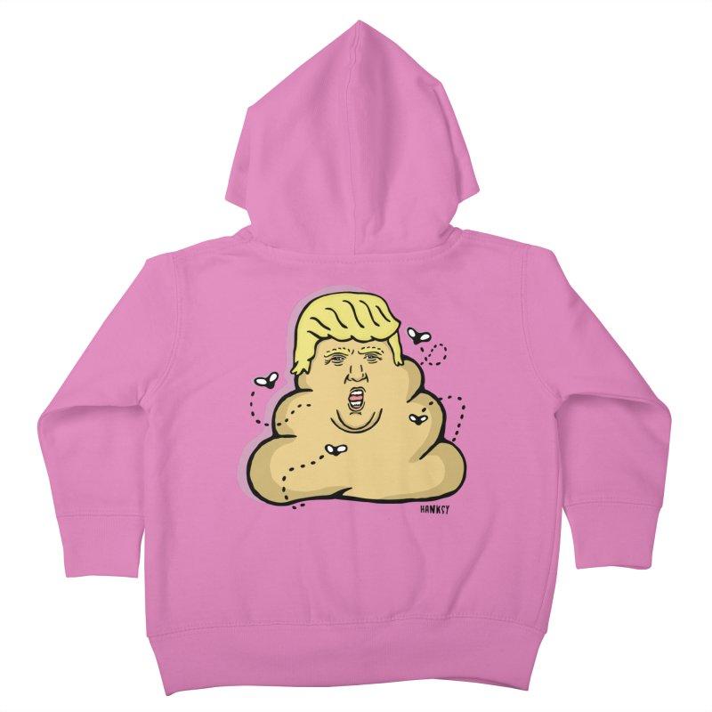 Dump Trump #1 Kids Toddler Zip-Up Hoody by hanksy