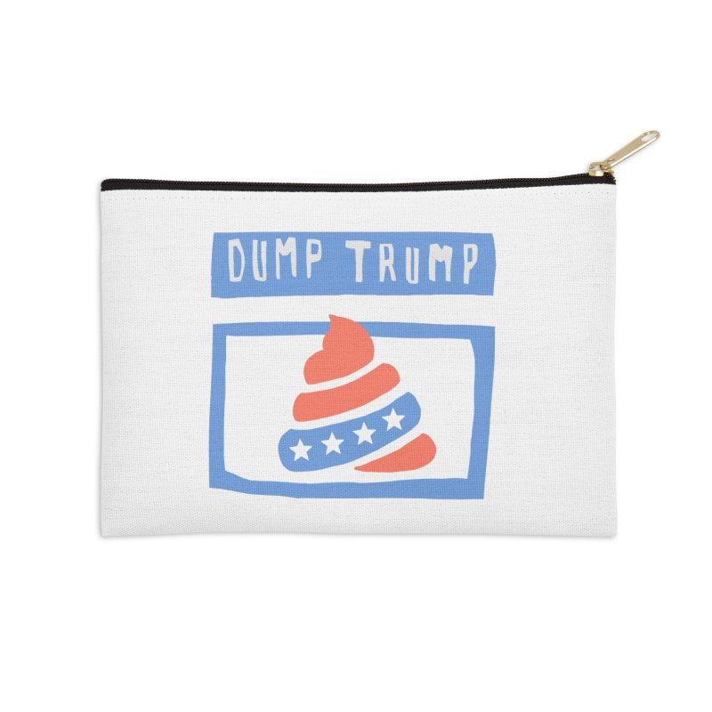 Dump Trump #3 Accessories Zip Pouch by hanksy