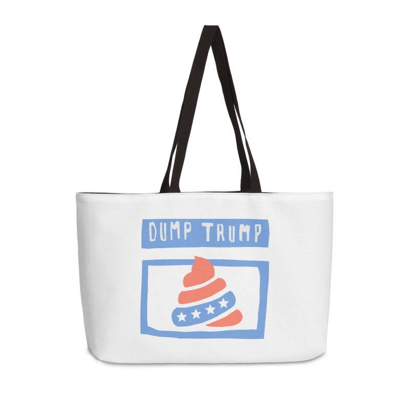Dump Trump #3 Accessories Weekender Bag Bag by hanksy