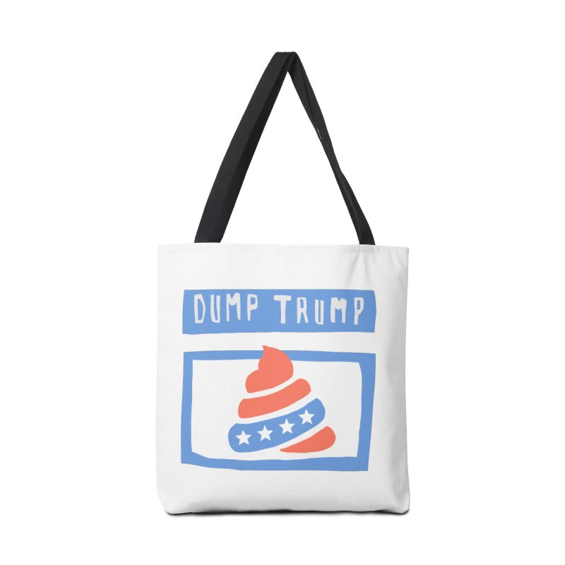 Dump Trump #3 Accessories Tote Bag Bag by hanksy