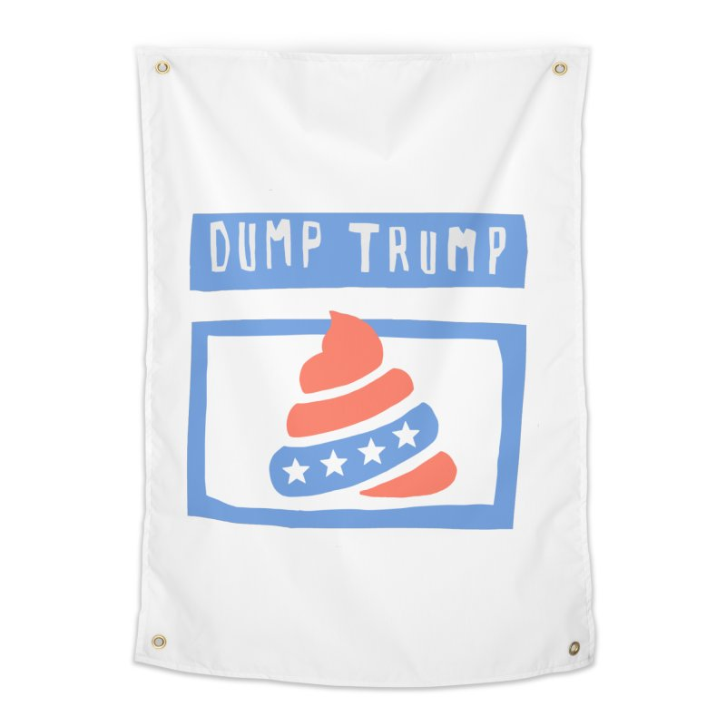 Dump Trump #3 Home Tapestry by hanksy