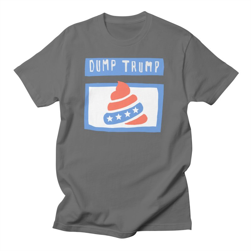 Dump Trump #3 Men's T-Shirt by hanksy
