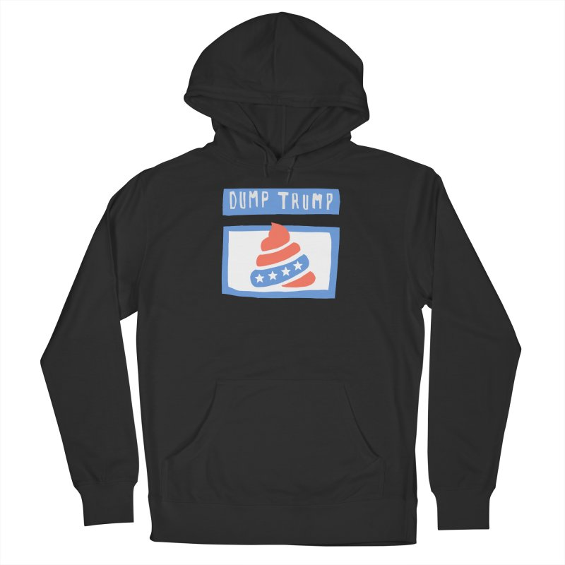 Dump Trump #3 Men's Pullover Hoody by hanksy