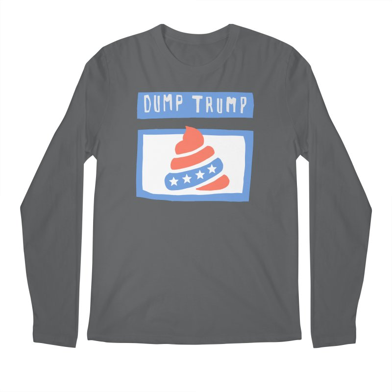Dump Trump #3 Men's Regular Longsleeve T-Shirt by hanksy