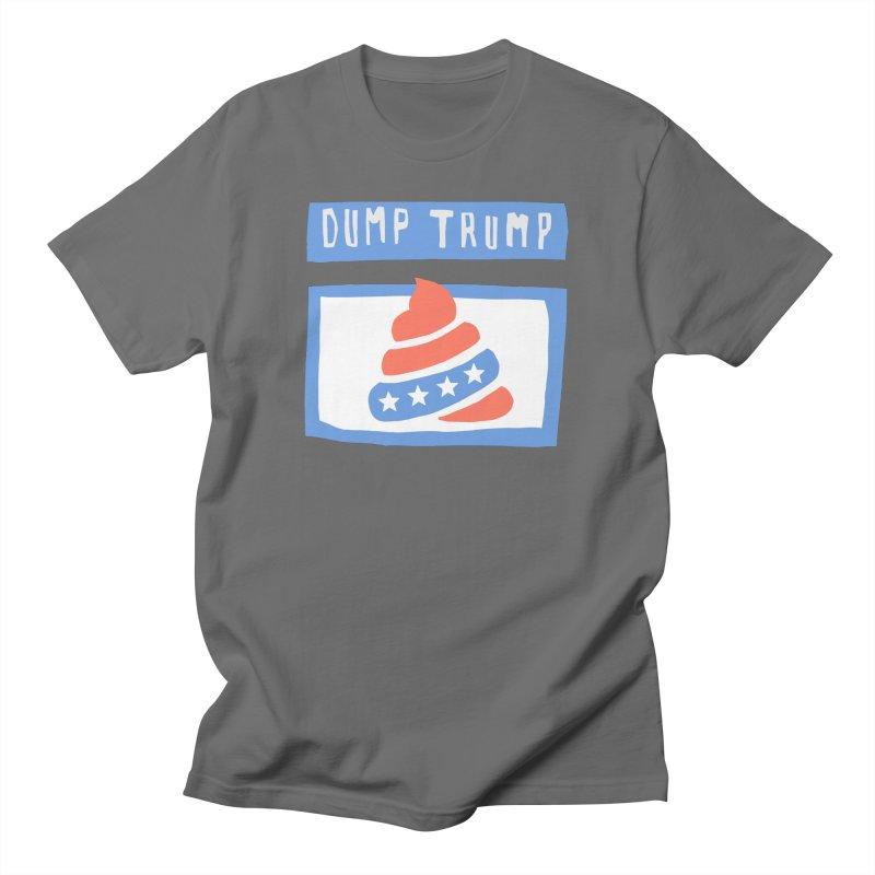 Dump Trump #3 Women's T-Shirt by hanksy