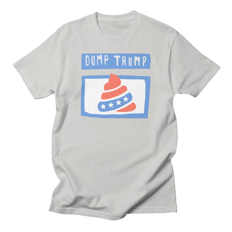 Dump Trump #3 Men's Regular T-Shirt by hanksy