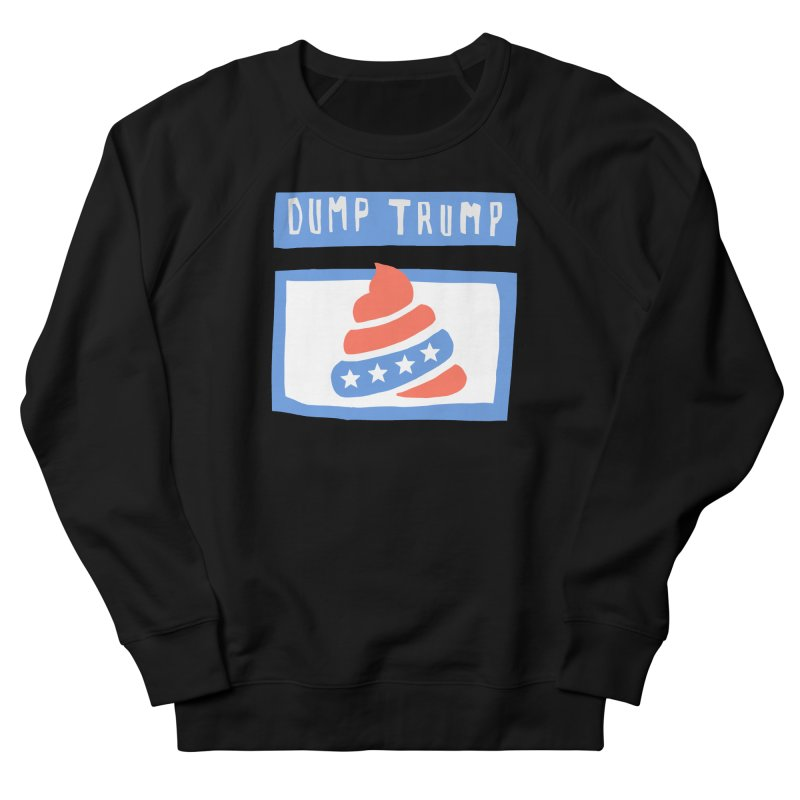 Dump Trump #3 Men's French Terry Sweatshirt by hanksy