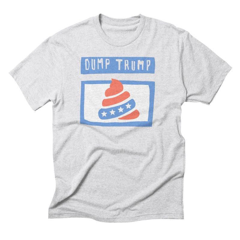 Dump Trump #3 Men's Triblend T-Shirt by hanksy