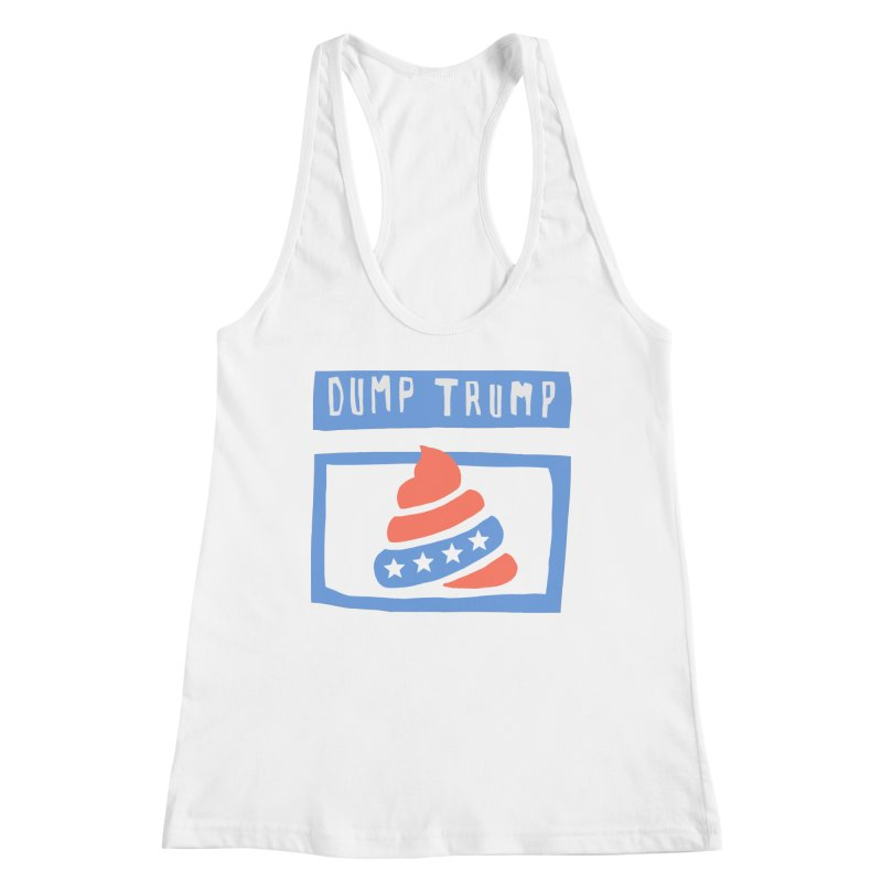 Dump Trump #3 Women's Tank by hanksy