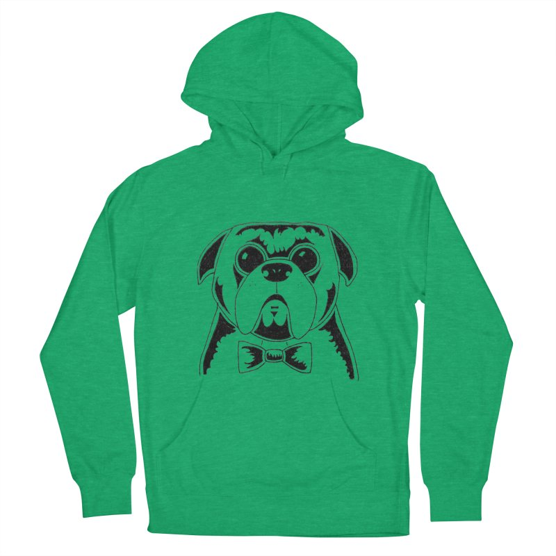 Bow Ties Are Cool Men's French Terry Pullover Hoody by Hannah's Artist Shop