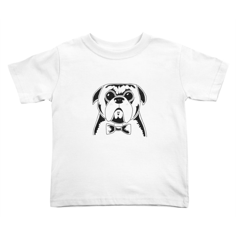 Bow Ties Are Cool Kids Toddler T-Shirt by Hannah's Artist Shop