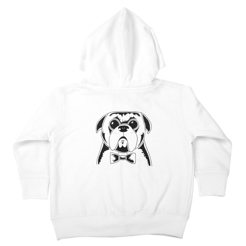 Bow Ties Are Cool Kids Toddler Zip-Up Hoody by Hannah's Artist Shop