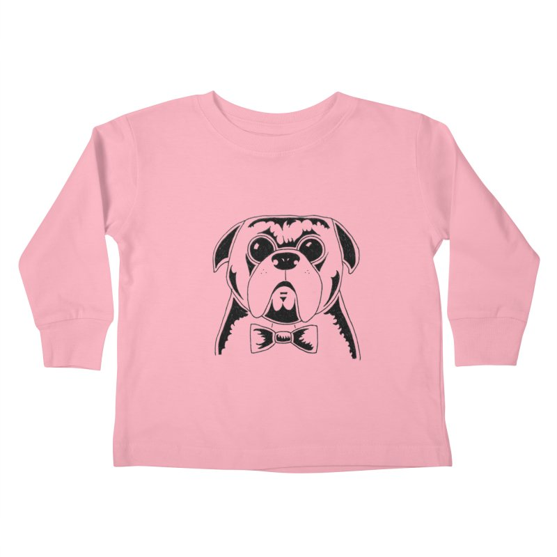Bow Ties Are Cool Kids Toddler Longsleeve T-Shirt by Hannah's Artist Shop