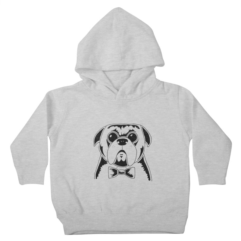 Bow Ties Are Cool Kids Toddler Pullover Hoody by Hannah's Artist Shop