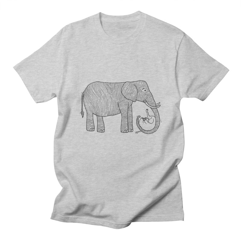 Ellie Bellie Men's Regular T-Shirt by Hannah's Artist Shop