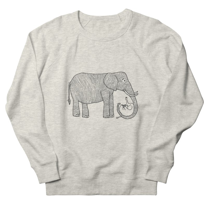 Ellie Bellie Men's French Terry Sweatshirt by Hannah's Artist Shop
