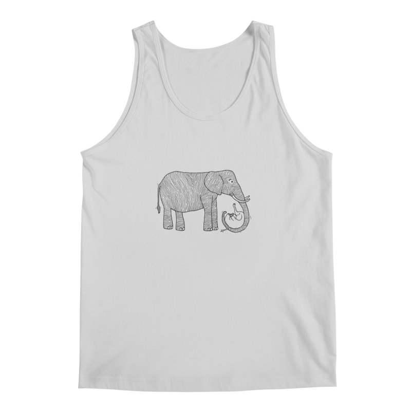 Ellie Bellie Men's Regular Tank by Hannah's Artist Shop